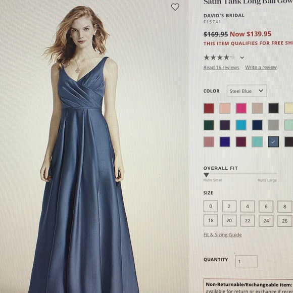 2f1a1849418d David's Bridal Dresses | Bridesmade Dress | Poshmark